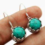 Turquoise-Gemstone-Sterling-Silver-Small-Dangle-Earrings-for-Women-and-Girls-Bezel-Set-Ear-Wire-Earrings-Turquoise-Bri-B08K61WCTL