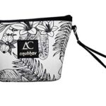 Womens-Designer-Handbags-Tote-Purse-PU-Leather-and-Cloth-Fashion-Top-Handle-Bags-Black-and-White-B07PHWY2M7