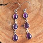 amethyst-Gemstone-Sterling-Silver-3-tier-Drop-Earrings-for-Women-and-Girls-Bezel-Set-Ear-Wire-Earrings-Purple-Bridesma-B08K62GKFC-2