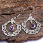 amethyst-Gemstone-Sterling-Silver-Boho-Dangle-Earrings-for-Women-and-Girls-Bezel-Set-Ear-Wire-Earrings-Purple-Bridesma-B08K66FMZV-2