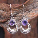 amethyst-Gemstone-Sterling-Silver-Crescent-Dangle-Earrings-for-Women-and-Girls-Bezel-Set-Ear-Wire-Earrings-Purple-Brid-B08K61S6JK-2