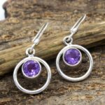 amethyst-Gemstone-Sterling-Silver-Dangle-Earrings-for-Women-and-Girls-Bezel-Set-Ear-Wire-Earrings-Purple-Bridesmaid-Ea-B08K63PH89-2