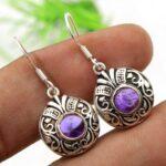 amethyst-Gemstone-Sterling-Silver-Dangle-Earrings-for-Women-and-Girls-Bezel-Set-Ear-Wire-Earrings-Purple-Bridesmaid-Ea-B08K63ZYCG