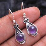 amethyst-Gemstone-Sterling-Silver-Drop-Earrings-for-Women-and-Girls-Bezel-Set-Ear-Wire-Earrings-Purple-Bridesmaid-Earr-B08K622N13-2