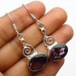 amethyst-Gemstone-Sterling-Silver-Drop-Earrings-for-Women-and-Girls-Bezel-Set-Ear-Wire-Earrings-Purple-Bridesmaid-Earr-B08K624F2S
