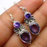 amethyst-Gemstone-Sterling-Silver-Drop-Earrings-for-Women-and-Girls-Bezel-Set-Ear-Wire-Earrings-Purple-Bridesmaid-Earr-B08K63K1RG