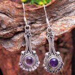 amethyst-Gemstone-Sterling-Silver-Drop-Earrings-for-Women-and-Girls-Bezel-Set-Ear-Wire-Earrings-Purple-Bridesmaid-Earr-B08K63LQD6-2