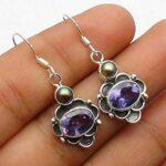 amethyst-Gemstone-Sterling-Silver-Drop-Earrings-for-Women-and-Girls-Bezel-Set-Ear-Wire-Earrings-Purple-Bridesmaid-Earr-B08K64QPCD
