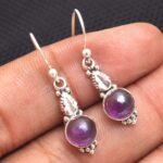 amethyst-Gemstone-Sterling-Silver-Small-Drop-Earrings-for-Women-and-Girls-Bezel-Set-Ear-Wire-Earrings-Purple-Bridesmai-B08K61GQ61-2